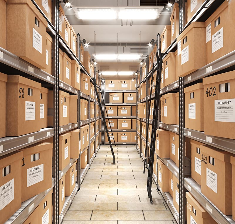 document storage boxes