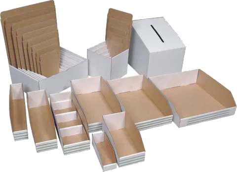 parts boxes